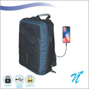 Backpack with Number Lock