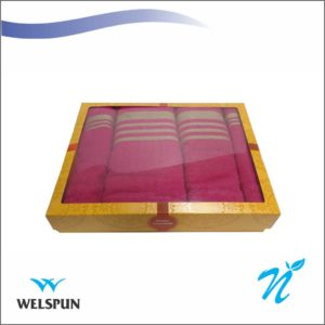 Welspun Home Essentials Set of 4 Towels